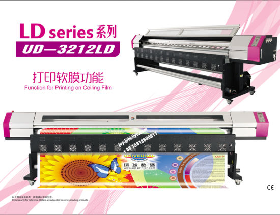 Universal Digital Phaeton Galaxy 6FT 8FT 10FT Large Format Eco Solvent Printer Ud-161LC, 1612LC, Ud-181LC, Ud-1812LC, Ud-211LC, Ud-2112LC, Ud-2512LC, Ud-3212ld pictures & photos