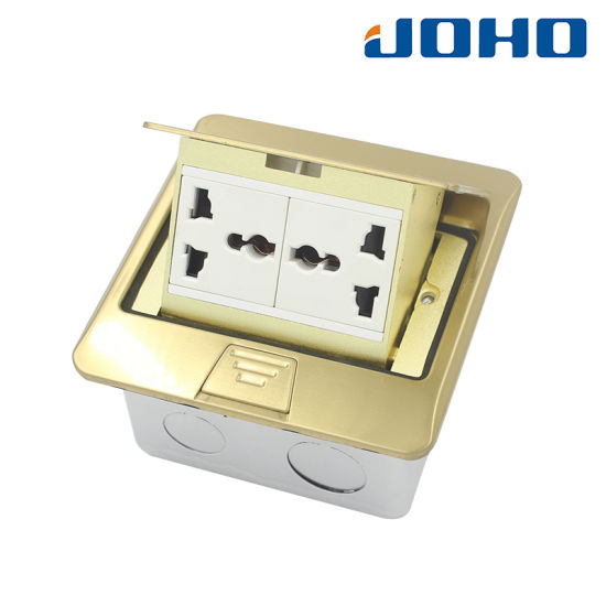 DCT-T17/GB Pop up Type Square Type Floor Outlet Box
