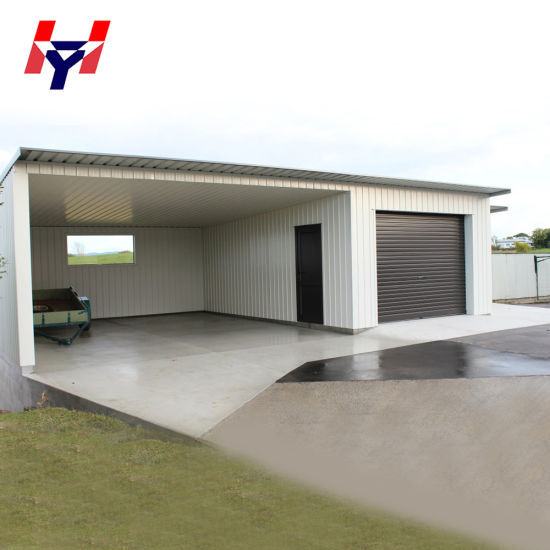 Low Cost Customized Easy Installation Steel Structure Car Garage