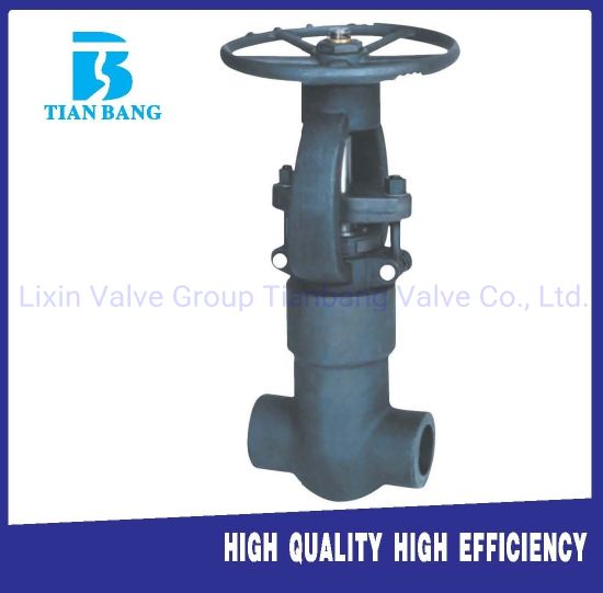 Manufacturer of Forged Steel Seal Pressure High Temperature High Pressure Gate Valve pictures & photos