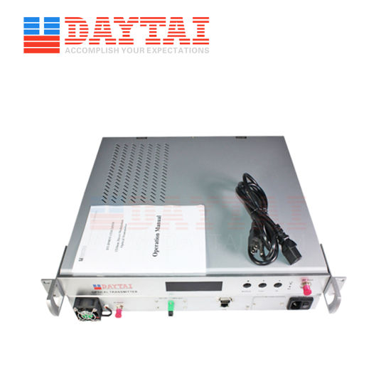 China Direct Modulation Video Audio Transmitter Optical
