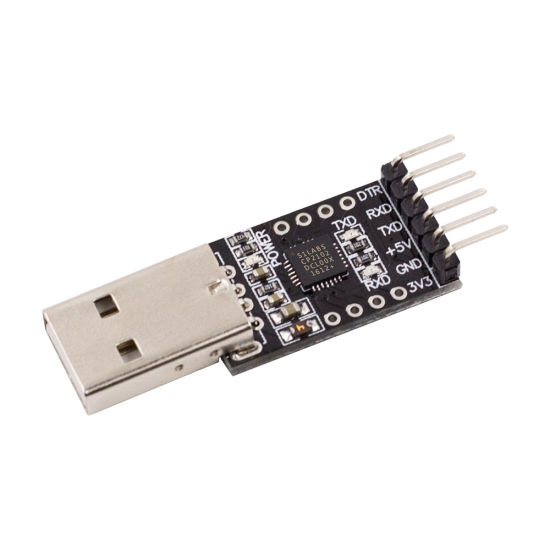 1pc CP2102 Module USB to TTL Serial Converter UART STC Download 5pcs Cables/_qi