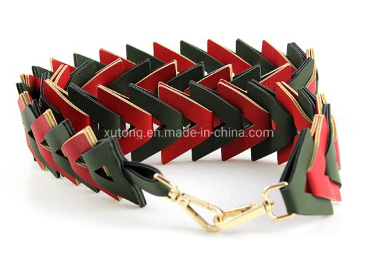 Double Color PU Belt Fashion Ladies Belts pictures & photos