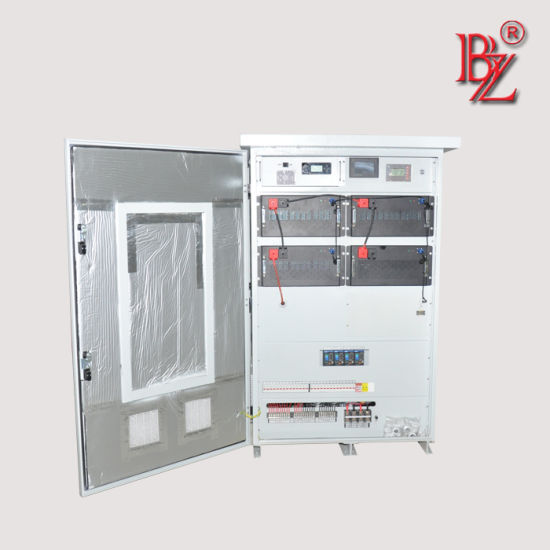 IP54 Outdoor Type LiFePO4 Lithium Battery Inverter Charger with BMS System for Solar Energy Storage