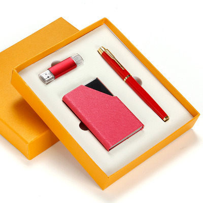 Best Selling Pen Packaging Box Metal Pen Gift Box Pen Gift Set Box