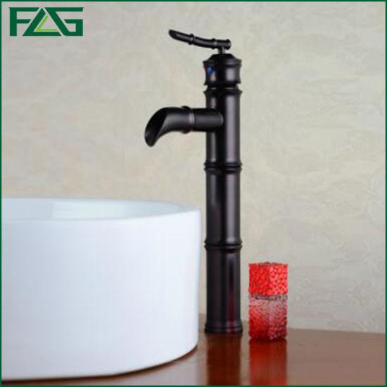 Flg Oil Rubbed Black Bronze Bathroom Basin Kitchen Mixer Tap