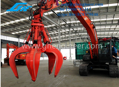 Excavator Grab for Steel Scrap pictures & photos