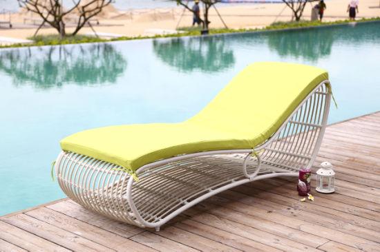 Hot Sale Outdoor Hotel Furniture Leisure Rattan Lounge
