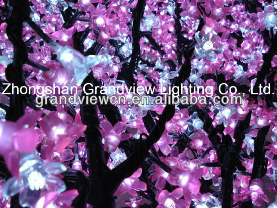 Low Saftey Voltage LED Cherry Tree Light for Christmas Decoration