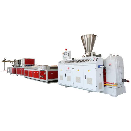 High Speed, High Efficiency, Energy Saving PE/PVC/ PPR Pipe Extrusion Machine, Pipe Making Machine