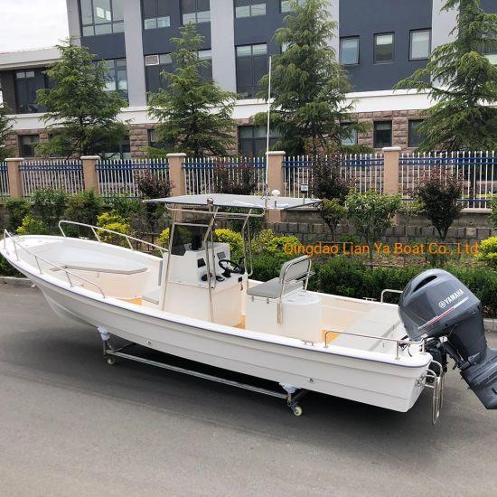 Liya 7.6m Center Console Fiberglass Fishing Boat Panga Boat