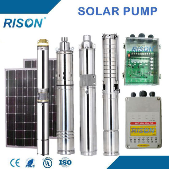 Top Quality DC Submersible Solar Pump Price (5 Years Warranty) pictures & photos