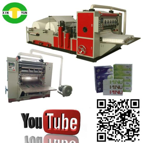 High Speed Folding Luxury Facial Tissue Machine Equipment pictures & photos