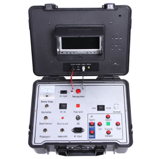 Underground Borehole Inspection Camera Cr110-7na with 45mm Diameter Camera with 120m to 3000m Cable pictures & photos