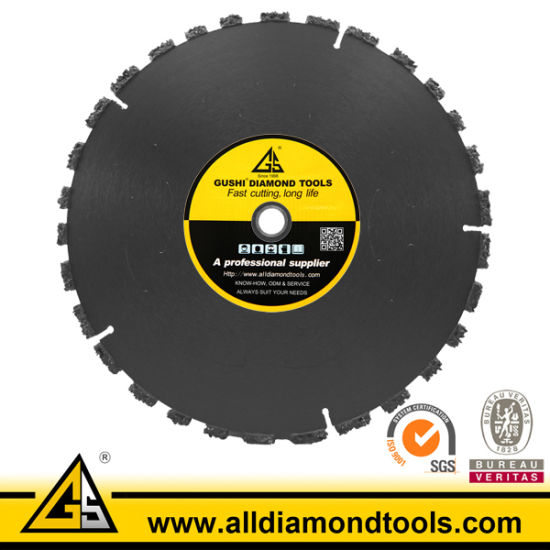 Ductile Diamond Circular Saw Blade for Cutting Iron pictures & photos