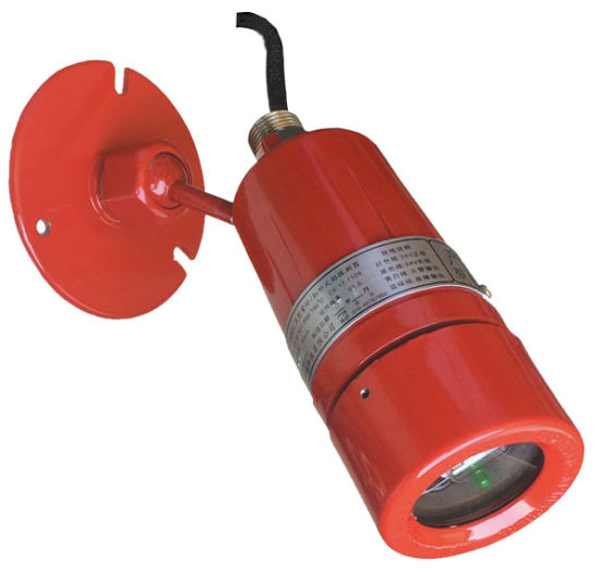 Point Type UV & 2-IR Flame Detector (Dual Infrared & Single UV)