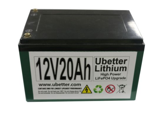 Rechargeable 12V 20ah LiFePO4 Lithium Battery for Lead Acid Battery Replacement pictures & photos