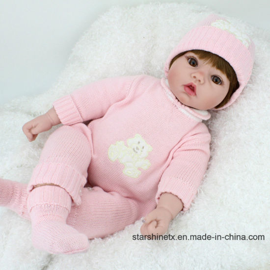 Wholesale Baby Girl Doll 22 Inch Silicone Baby Dolls