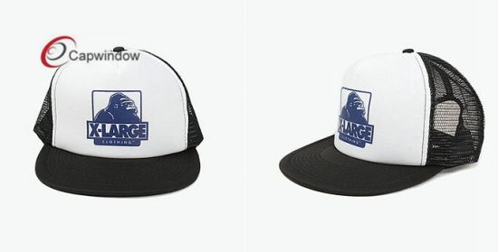 3a0e9369 China 5 Panel Trucker Hat with Screen Printing Logo and Embroidery ...