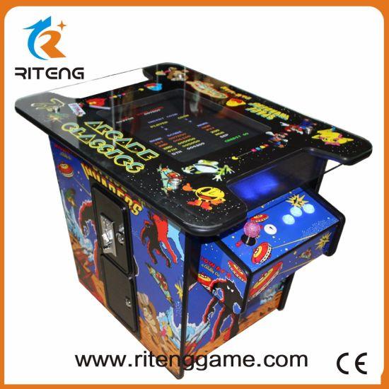 Voyager Digital Cocktail Table Retro Multi Game Arcade Machine