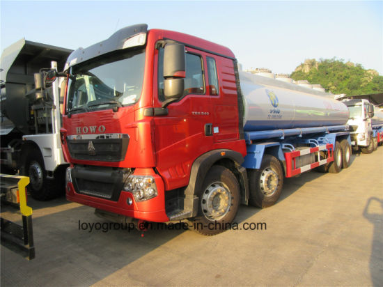 HOWO T5g 25000L Oil Truck Fuel Tanker Tank Truck Sale pictures & photos