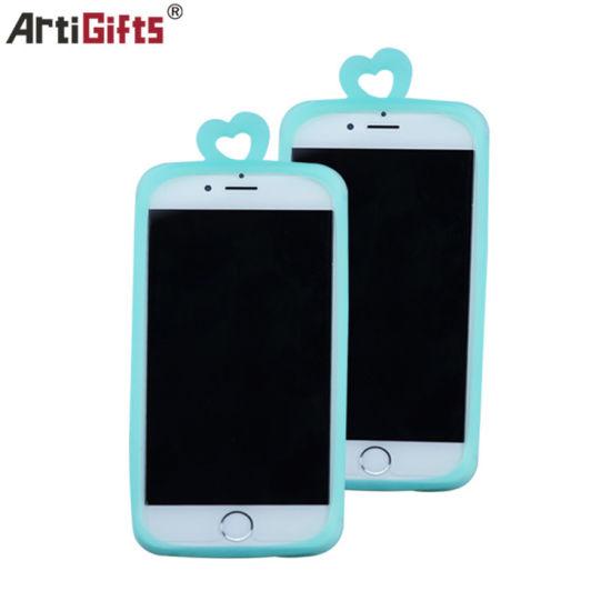 Customized Mobile Accessories Rubber Silicone Mobile Phone