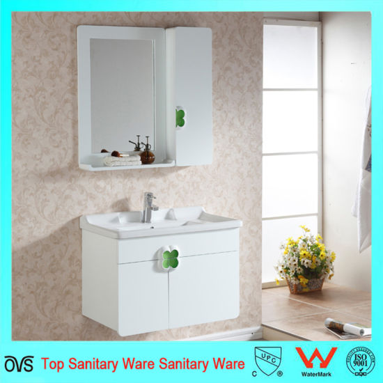 Ceramic Countertop High Quality Solid Wood Bathroom Vanity