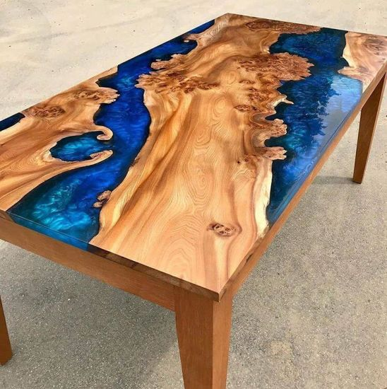 China Liquid Glass Epoxy Resin For Wood Crafts Tables China