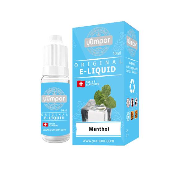 China Manufacturer Menthol Double Flavor E Juice Eliquid (10ml 30ml