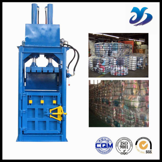 Press Waste Paper Bottles Carton Board Hydraulic Baler for Plastic pictures & photos