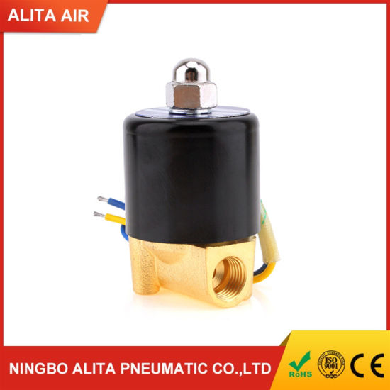 Normal Close Diaphragm Pneumatic Brass Solenoid Valve