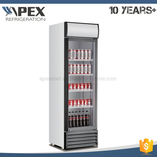 Low Noise Single Door Upright Cooler with Canopy pictures & photos