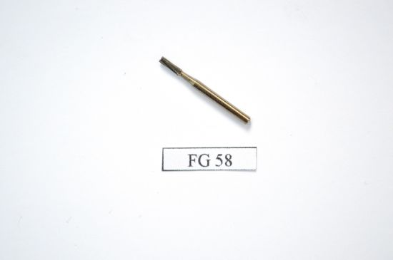 Fg56 Series Dental Tungsten Carbide Burs-Straight Flat End Shape pictures & photos