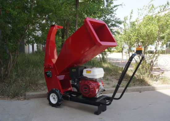15HP Wood Chipper Petrol Garden Tree Branch Shredder