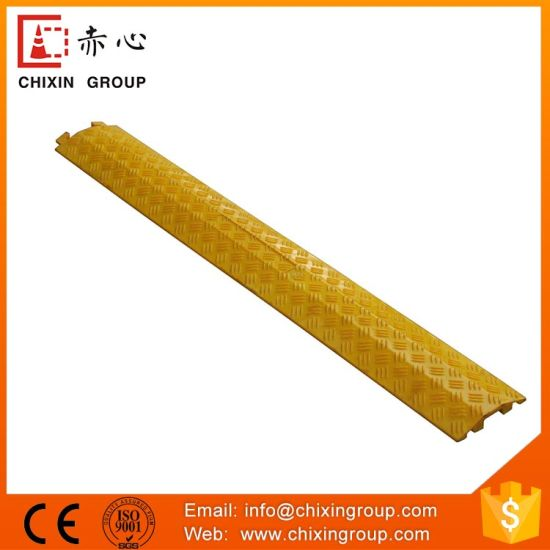Soft One Channel Long Cable Speed Hump pictures & photos
