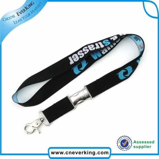 Custom Silk Screen Printed Lanyard with Card Holder pictures & photos