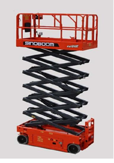 Hot Sale Gtjz1212e Scissor Lift with Max Working Height 13.6m pictures & photos