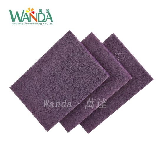 f89cba7249dba High Scouring Power Purple Scouring Pad Kitchen Abrasive Cleaning Pad