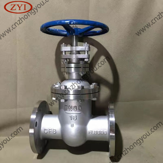 DIN Cast Steel Ce Non Rising Stem Gate Valve pictures & photos