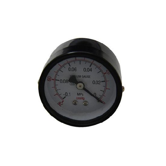 """Factory Price 40mm 1.5"""" Black Steel Vacuum Gauge"""