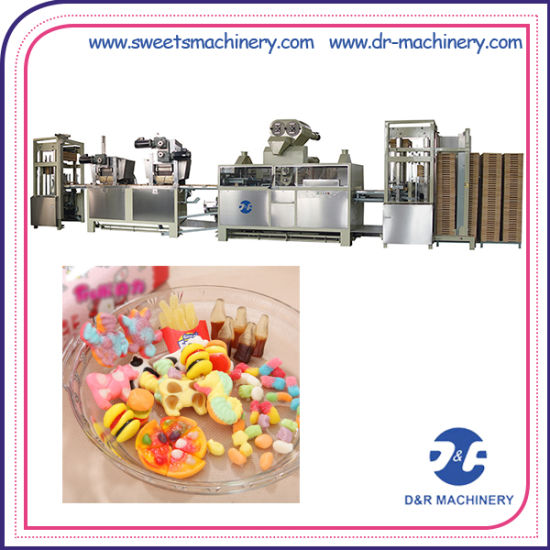 Starch Mogul Line Gummy Candy Production Professional Candy Making Equipment