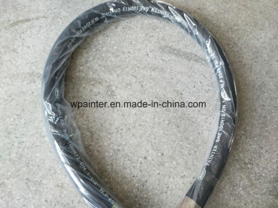 "100 R2 at Dn 1-1/2"" W. P 90bar /1305psi2q17 Rubber Hose pictures & photos"