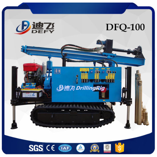 Best Selling Small Pneumatic Rock Drilling Rig Dfq-100 pictures & photos