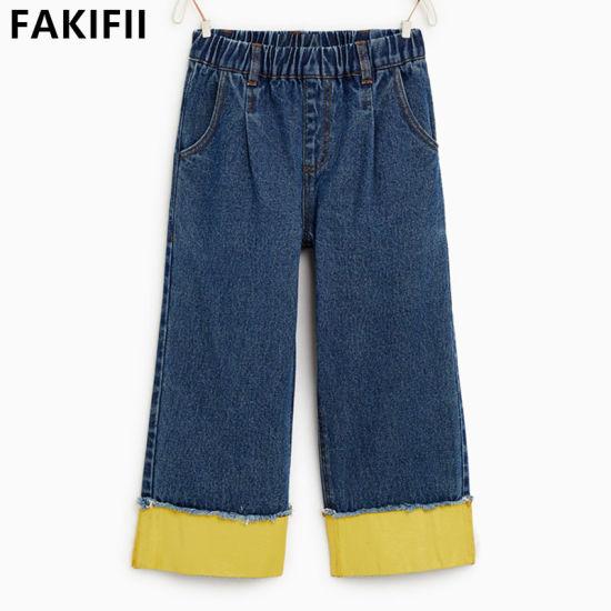 Wholesale OEM/ ODM Children/Baby/Kid Clothes Cotton Children Jeans