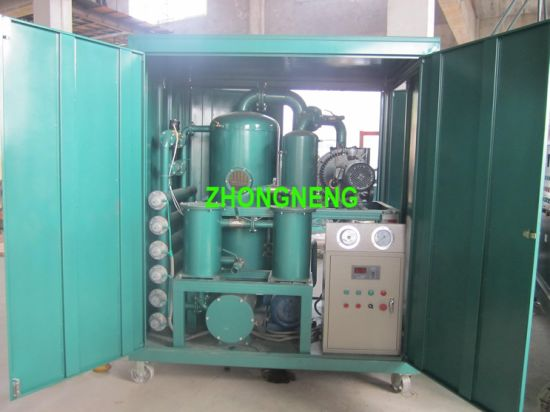 Vacuum Oil Purifying Plant, Used Oil Purification System with Ce ISO 9001