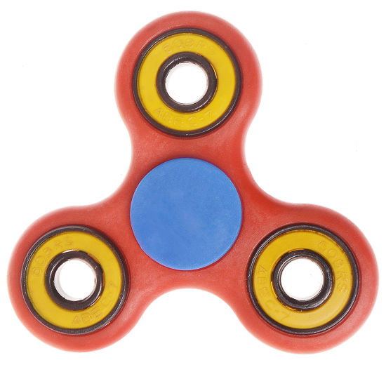 Fidget Toy Stress Relief Anxiety Autism Red Hand Spinner pictures & photos