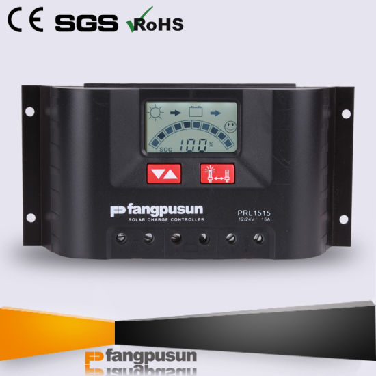 10A 15A 20A 30A Hybrid Solar Panel Charger Controller LCD 12V/24V