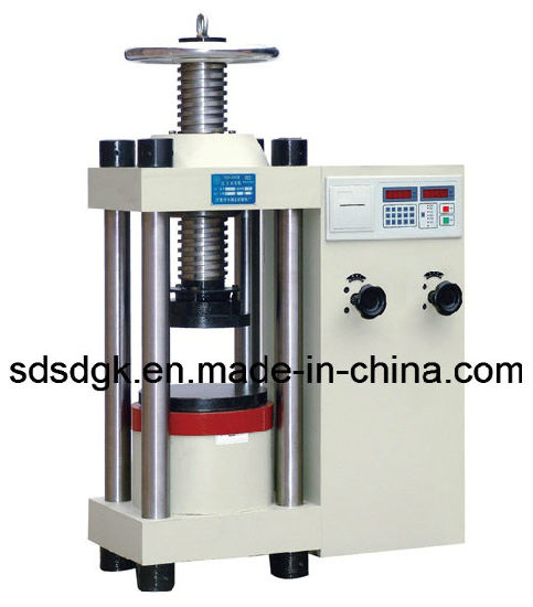 Yes Series LCD Display Hydraulic Compressive Strength Testing/Test Instrument/Equipment/Machine pictures & photos