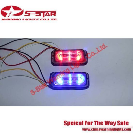 3W Lighthead LED Emergency Vehicle Grille Warning Light pictures & photos