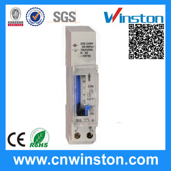 Programmable Digital Industrial Mechanical Electronic Time Switch with CE
